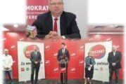 DEMOKRATI – Predsjednik Mirando Mrsić: SDP-ova koalicija ne ugrožava HDZ