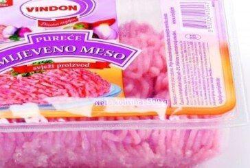 OBAVIJEST POTROŠAČIMA o povlačenju proizvoda – U purećem mljevenom mesu otkrivena bakterija