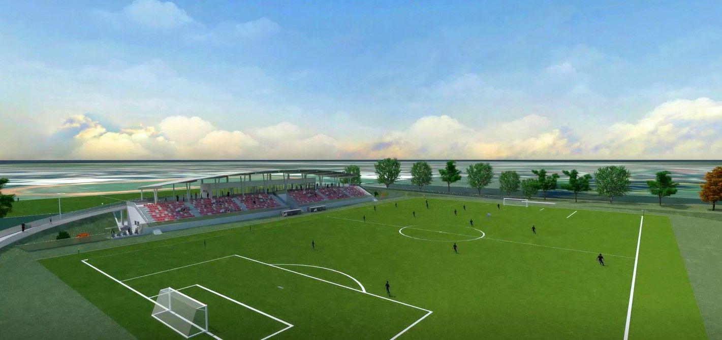 Kako će izgledati NOVI STADION u Bjelovaru vrijedan 22 milijuna kuna - Donosimo projekt u cijelosti
