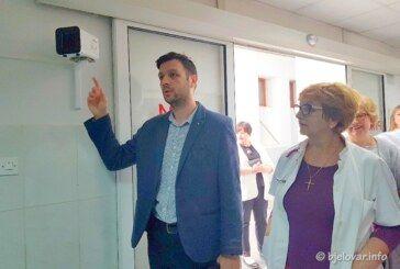 Uručena termovizijska kamera Općoj bolnici Bjelovar – Donacija Rotarycluba Bjelovar