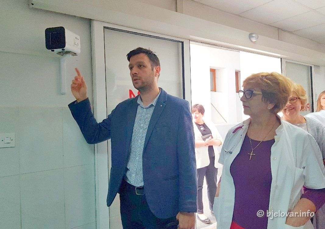 Uručena termovizijska kamera Općoj bolnici Bjelovar - Donacija Rotarycluba Bjelovar