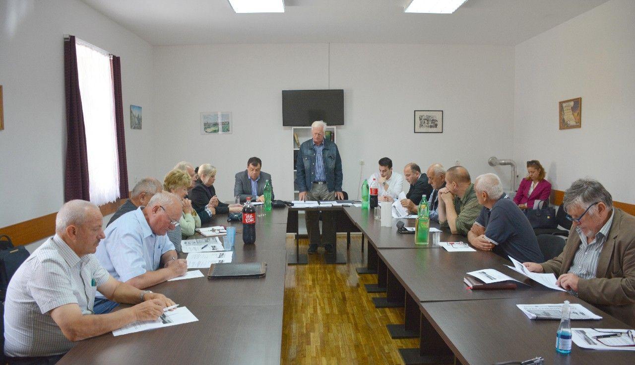 Održana 3. sjednica Zajednice udruga antifašističkih boraca i antifašista BBŽ-a - Sjednici prisustvovao i župan Damir Bajs