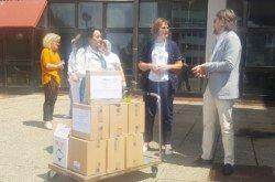 Još jedna donacija rotarijanaca – Uručili dezinficijense Domu za starije i nemoćne osobe u Bjelovaru