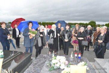 FOTO Bjelovarske članice udruga obišle su posljednje počivalište naše Danice Bilić