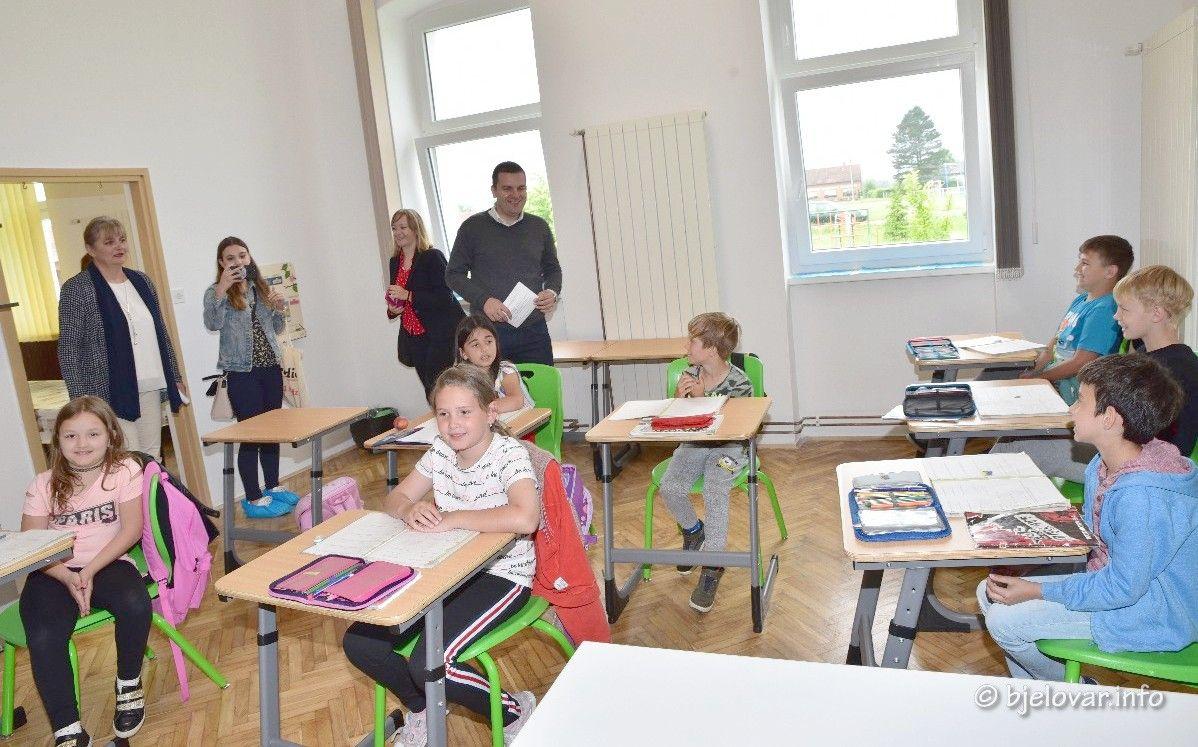Grad Bjelovar nastavlja ulagati u obrazovanje - Uvedena jednosmjenska nastava u školu Gudovac i Klokočevac