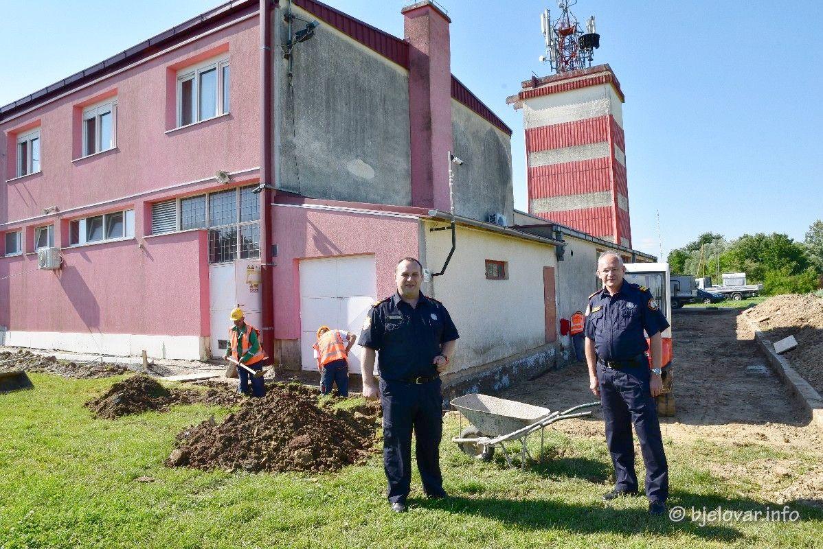 BOLJI UVJETI RADA Počela energetska obnova zgrade Vatrogasne zajednice Grada Bjelovara