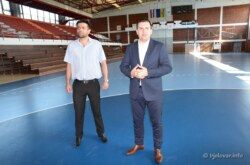 Nastavlja se uređenje Dvorane europskih prvaka: Uređene prostorije sanitarija i svlačionice