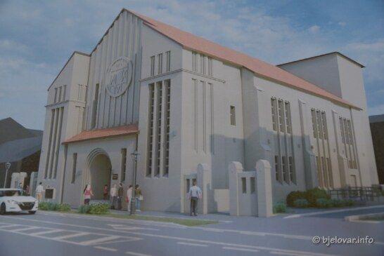 (FOTO) NAKON OBNOVE Dom kulture postat će moderno Bjelovarsko kazalište