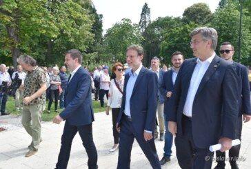 Andrej Plenković u Bjelovaru: Drago mi je da smo danas u županiji za koju smo učinili jako puno!