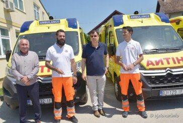 Župan Damir Bajs uručio ključeve novih vozila Zavodu za hitnu medicine Bjelovarsko-bilogoske županije