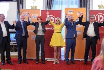 Demokrati i Hrvatski laburisti – Bojana Hribljan nositeljica liste u drugoj izbornoj jedinici – Na listi ima OSAM ŽENA