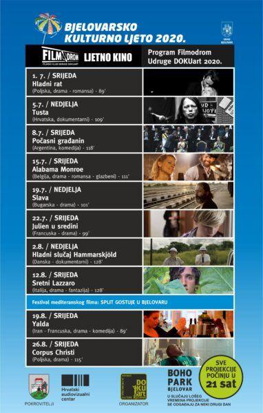 Filmodrom Ljetno kino program 002