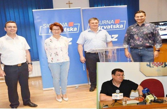 Župan Damir Bajs: HDZ-u savjetujemo da čita ZAKONE RH umjesto mailove