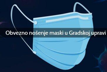 Grad Bjelovar – OBAVIJEST: Građani koji dolaze u Gradsku upravu obvezni su nositi masku