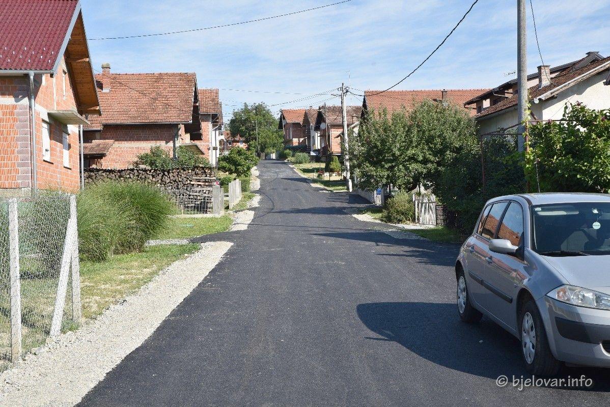 Završeni radovi u Ulicu Ivana Pernara u Trojstvenom Markovcu - Nastavljaju se radovi u drugim ulicama