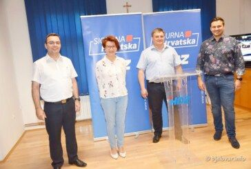 HDZ BBŽ: Veliko hvala svim našim građanima koji su izašli na izbore i time pokazali odgovornost za jedinu nam Hrvatsku