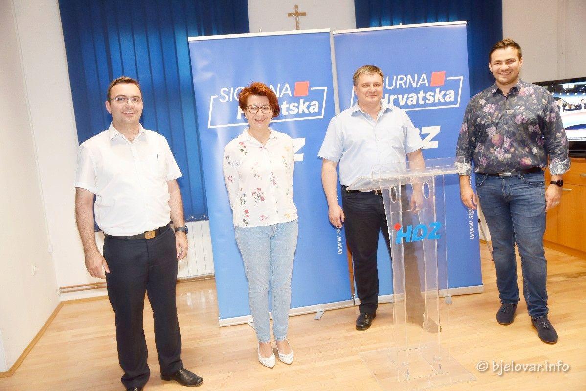 (PRVI NESLUŽBENI REZULTATI) HDZ premoćno vodi - USPJEŠNI i u Bjelovaru!