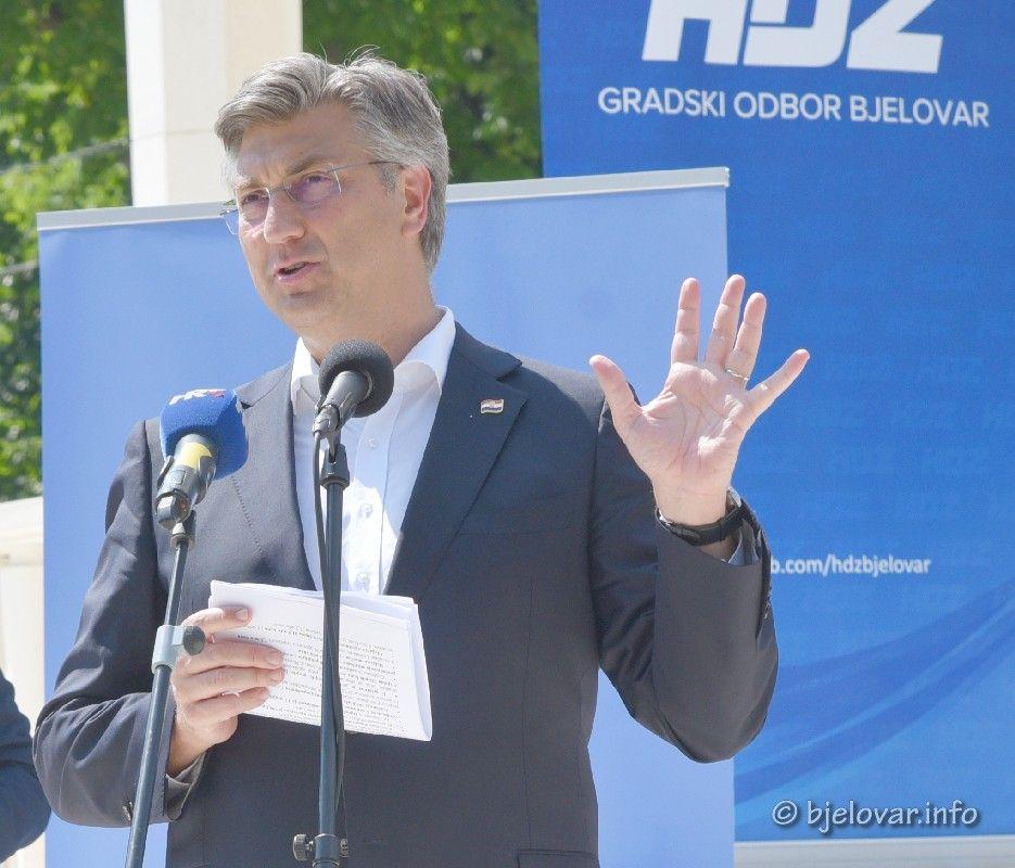 Pobjednički govor Andreja Plenkovića: Ovaj rezultat HDZ-a, ne samo da je velik, nego i obvezuje!