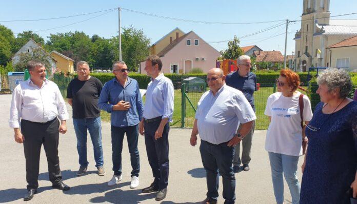 Gordan Jandroković i kandidati na listi na području Bjelovarsko-bilogorske županije - Podršku dobili od načelnika Općine Velika Pisanica Fredija Palija