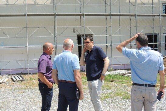 Energetska obnova škole Čazma i Gornji Draganec u punom jeku – Župan Damir Bajs obišao radove