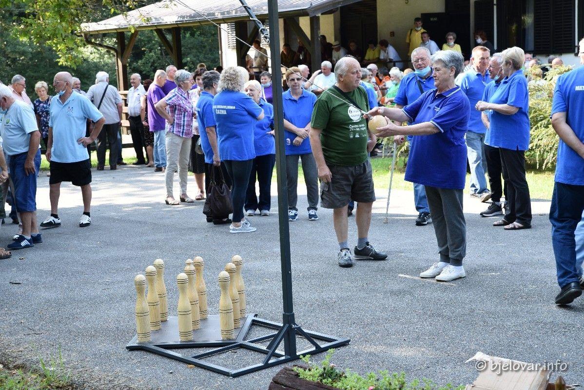 FOTO Županijski sportski susreti umirovljenika okupili oko 160 sudionika  - bjelovar.info