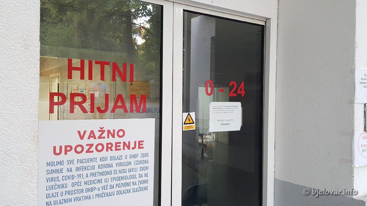 Nema novozaraženih osoba u Bjelovarsko-bilogorskoj županiji, preminula jedna osoba