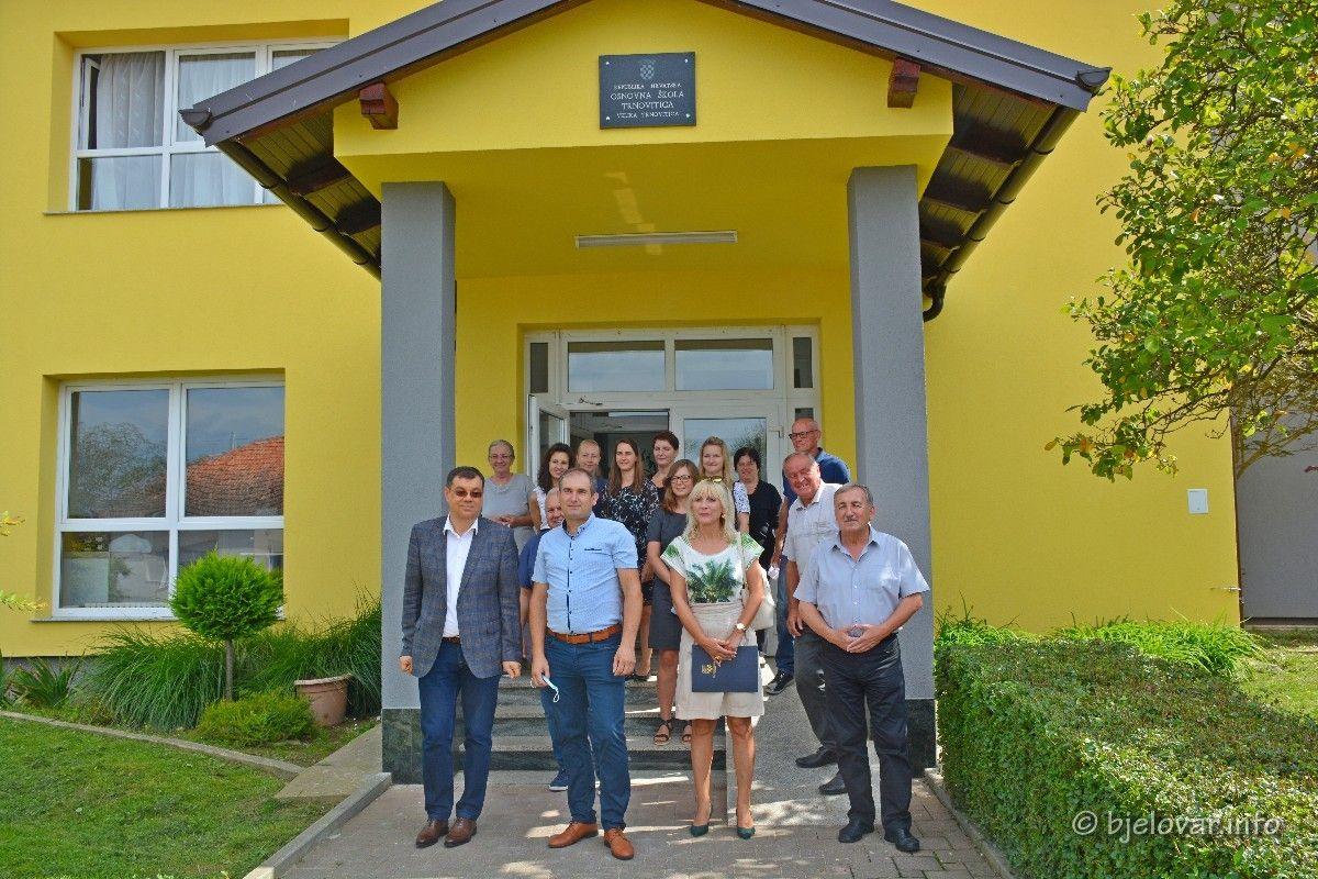 ŽUPANIJA: Kompletno obnovljena Osnovna škola u Velikoj Trnovitici