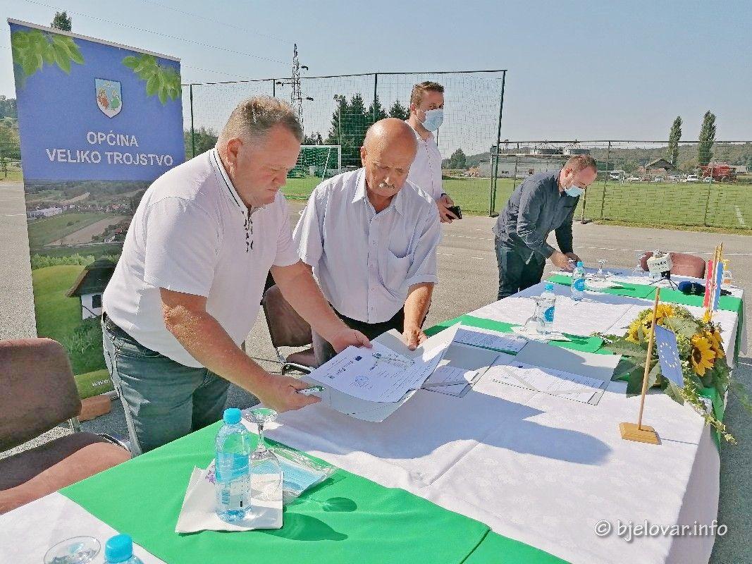 KONAČNO KREĆE SANACIJA ODLAGALIŠTA OTPADA GRGINAC - Potpisani ugovori