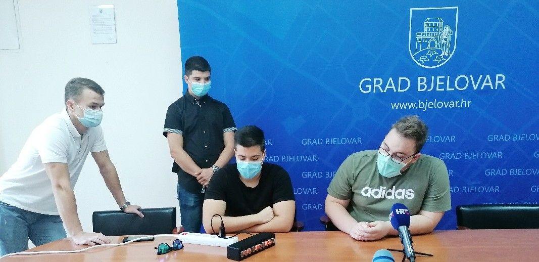 Bjelovarski studenti mehatronike osvojili sjajno drugo mjesto iz područja elektrotehnike i računarstva