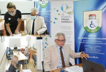 Udruga tjelesnih invalida Bjelovar obilježila Europski tjedan mobilnosti s porukom: Puno je problema s kojima se susrećemo