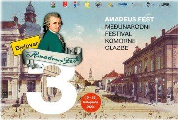 AMADEUS FEST U BJELOVARU od 16. do 18. listopada 2020.