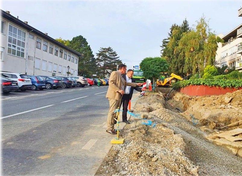 GRAD ČAZMA intenzivno radi na uređenju ulica - Rekonstrukcija Ulice kralja Tomislava najzahtjevnija do sada