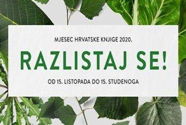 BJELOVAR Idući tjedan počinje Mjesec hrvatske knjige 2020. – Pogledajte program