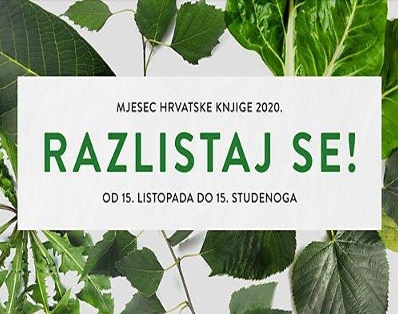 BJELOVAR Idući tjedan počinje Mjesec hrvatske knjige 2020. - Pogledajte program