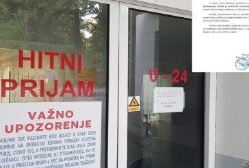 (JOŠ TUŽNIJE ) Priopćenje iz Opće bolnice Bjelovar: Odjel kirurgije prima samo hitne slučajeve