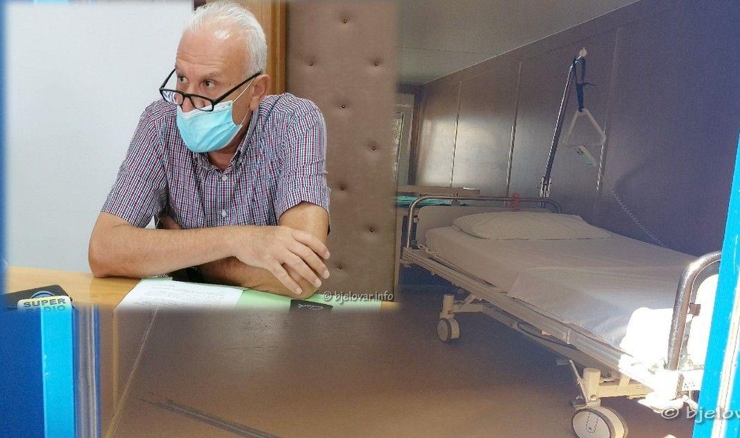 Ravnatelj Opće bolnice Bjelovar Ali Allouch: Imamo zalihu lijekova za najmanje mjesec dana