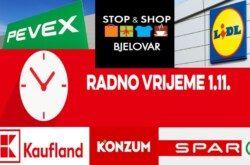 Provjerite kako rade trgovine na blagdan Svih Svetih u Bjelovaru