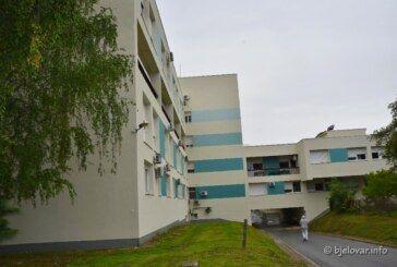 Danas 31 novooboljela osoba u našoj županiji, među kojima je 8 zdravstvenih djelatnika Opće bolnice Bjelovar