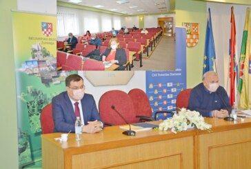 ŽUPANIJSKI STOŽER o potrebi postavljanja grijanog šatora u krugu Opće bolnice Bjelovar