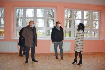 Pri kraju je obnova Područne škole Ivanovo Selo – Župan Bajs obišao završne radove
