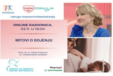 Besplatne ONLINE radionice: Mitovi o dojenju, akupunktura i porod