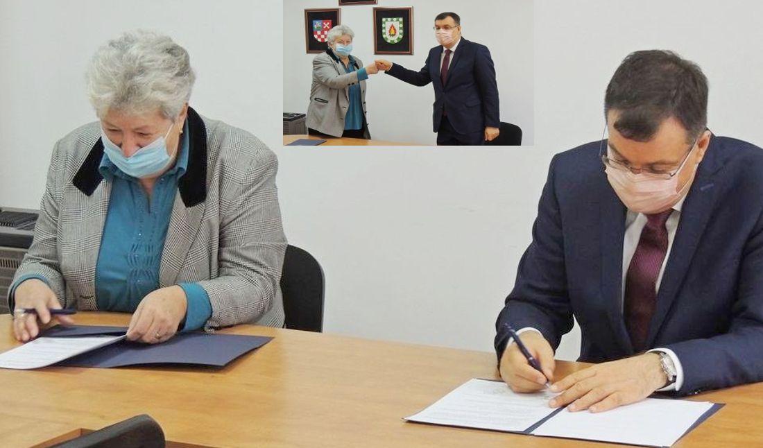 ŽUPANIJA nastavlja pomagati osobama treće životne dobi - Potpisan ugovor s Udrugom umirovljenika Ivanska