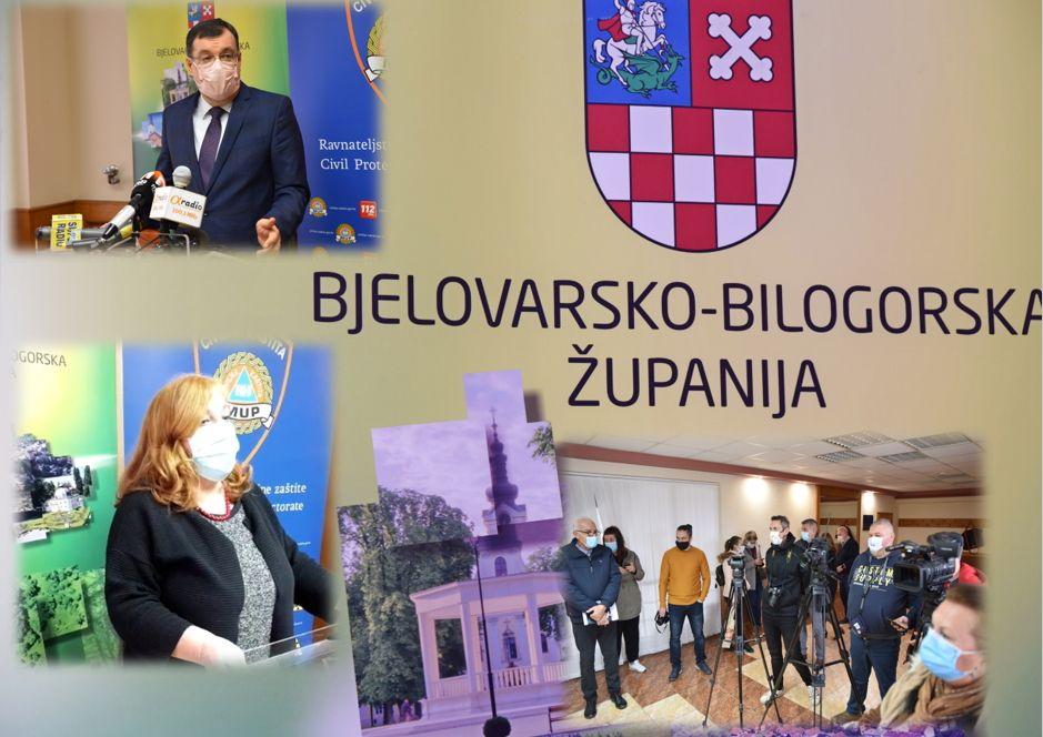 Epidemiloginja Vesna Grgić: Bjelovar je najveće žarište, lokalna transmisija uzela maha!