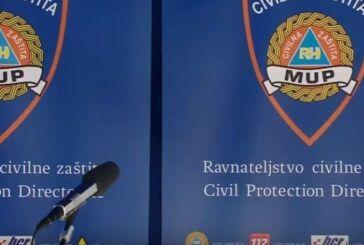 Nacionalni stožer održao konferenciju: Policija i civilna zaštita dodatno će pojačati nadzor i kontrole