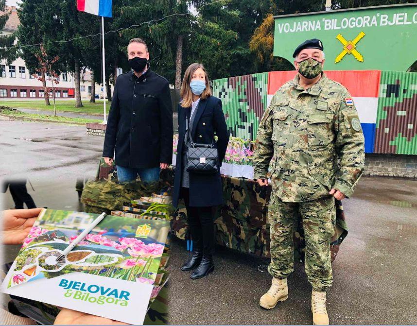 Odlična suradnja Grada Bjelovara s vojarnom Bilogora – Vojnici će kroz misije promovirati Grad Bjelovar