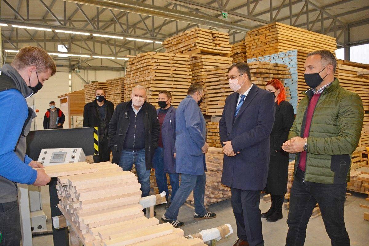 Županijska ustanova SUVENIR ARBOR uložila 14 milijuna kuna u gradnju novih pogona i modernizaciju poslovanja
