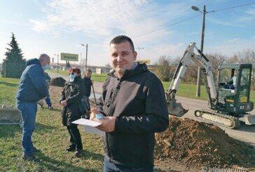 Krenula obnova Pakračke ulice u Bjelovaru – Od sutra se zatvara na mjesec dana