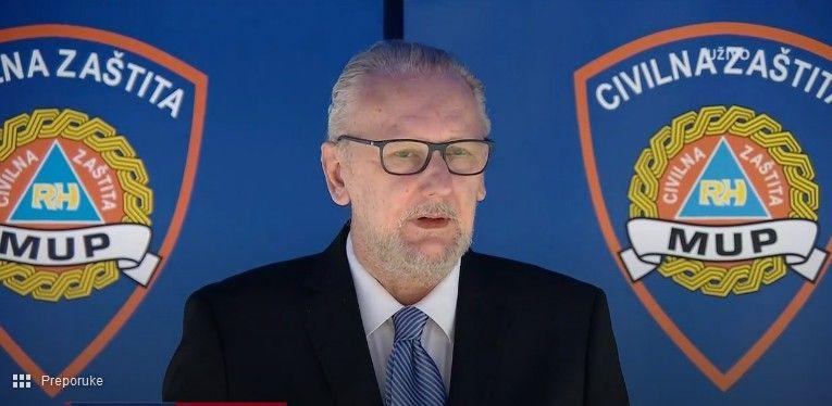 Ministar Božinović o druženje u vrijeme blagdana