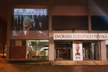(FOTO) Napustio nas je jedan od najvećih rukometnih legendi ŽELJKO SELEŠ – Na Dvorani europskih prvaka prikazana video projekcija