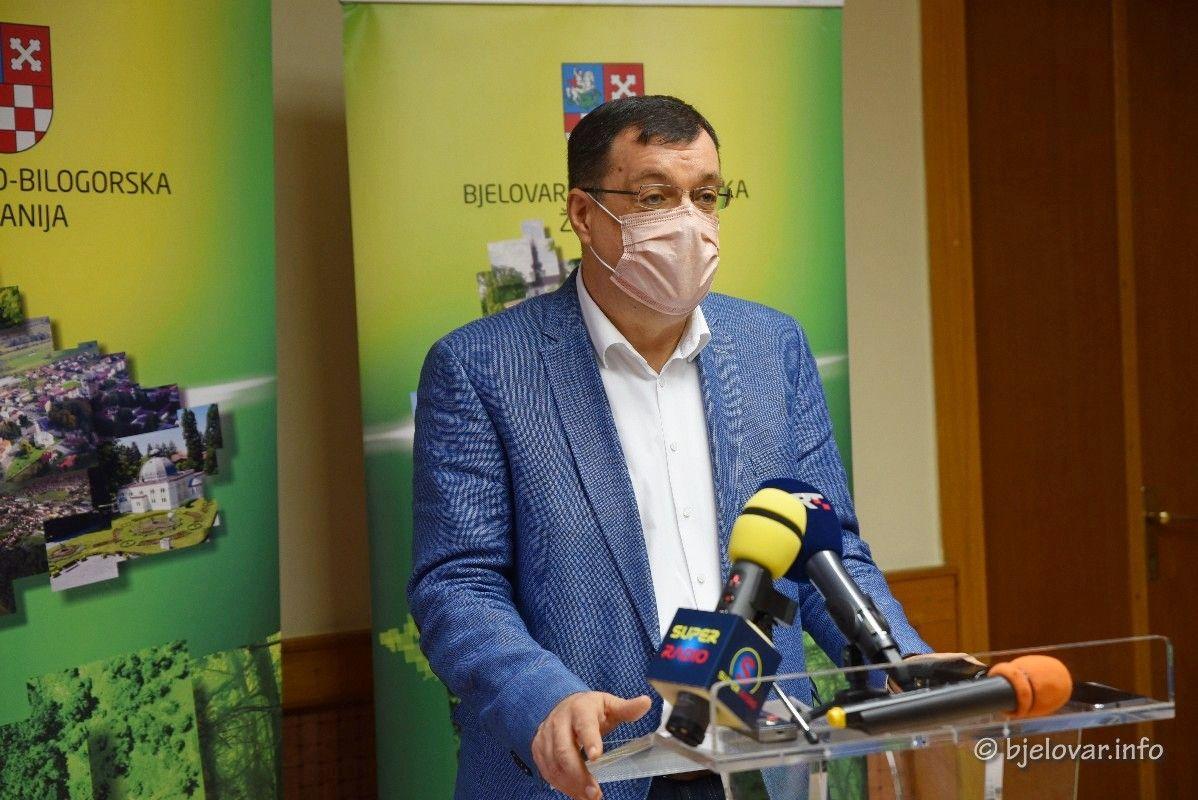 Župan Bjelovarsko-bilogorske županije DAMIR BAJS u samoizolaciji
